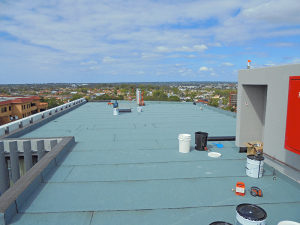 bankstown unit development rooftop waterproofing