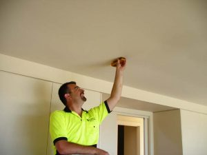 Dr Flood performing water damage restoration in Sutherland Shire